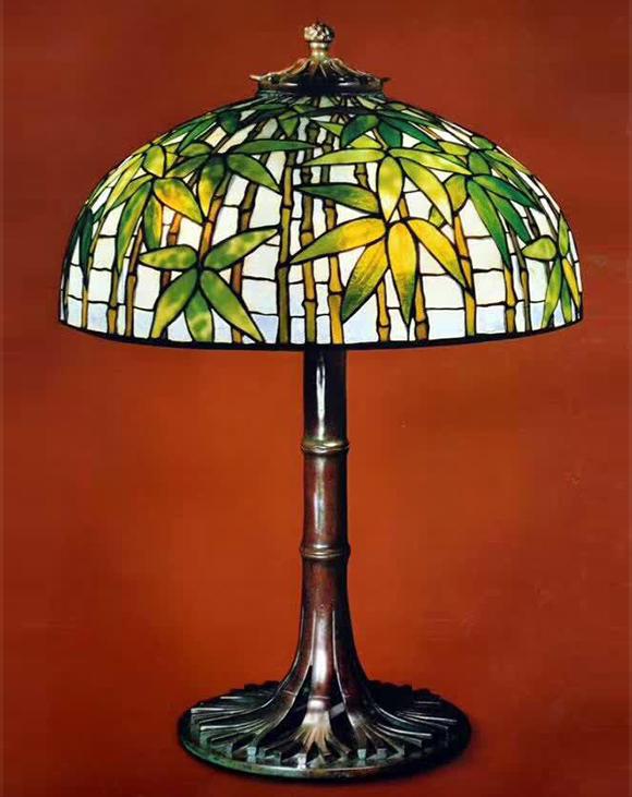 蒂凡尼艺术灯装饰