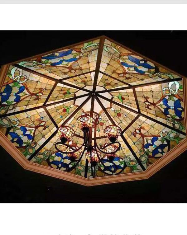 室内玻璃装饰玻璃穹顶