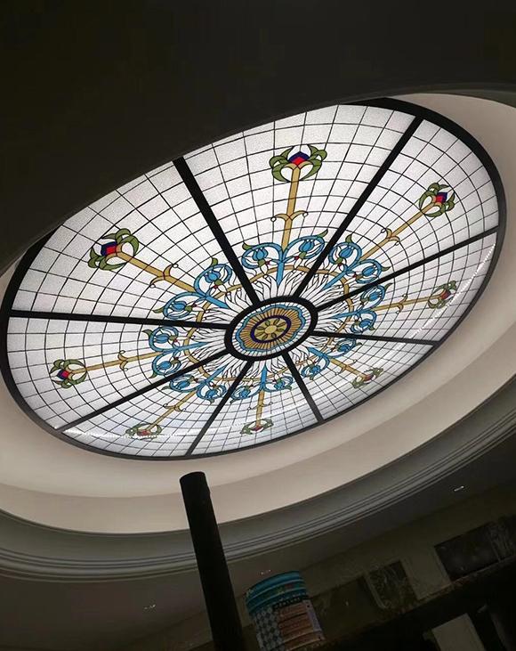花纹玻璃穹顶