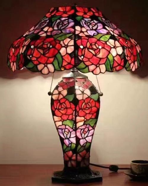 彩色蒂凡尼艺术灯饰