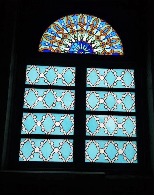 艺术彩色玻璃