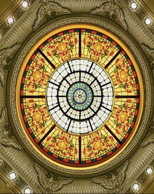 教堂穹顶玻璃